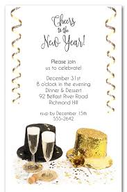 new year invitation top hats new year s invitations new year s invitations