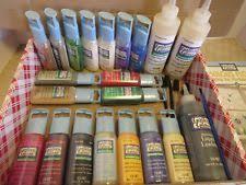 plaid promoggii gallery glass acrylic paint 2oz best colors ii ebay