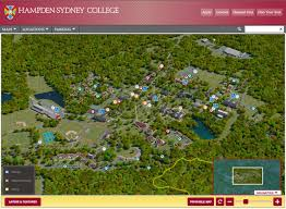 Nc State Campus Map Hsc Campus Map With Active Layers Hampden Sydney College