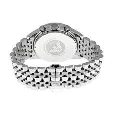 armani men bracelet images Emporio armani sportivo chronograph silver dial stainless steel jpg