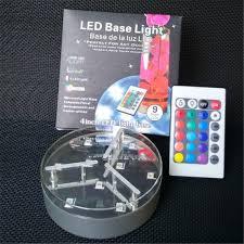 Led Vase Base Light 10pieces Lot 4 Inch Rgb Multicolors Led Vase Base Light Table