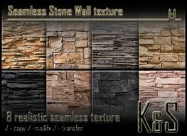 second life marketplace u003ck u0026s u003e seamless stone wall texture 8