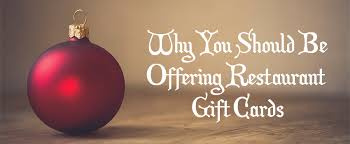 discounted restaurant gift cards why you should be offering restaurant gift cards lavu