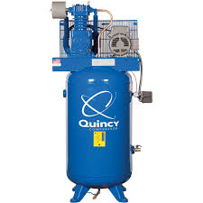 quincy compressor reciprocating air compressor 5hp 230v 1 phase 80
