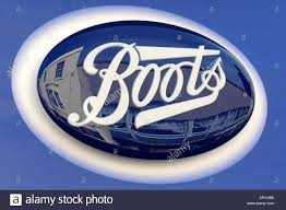 boots sale uk chemist boots chemist store shop pharmacy sign stock photo royalty free