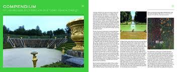compendium of landscape architecture landscape architecture
