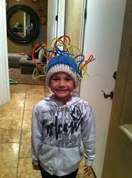 crazy hair ideas for 5 year olds boys crazy hat day for kids crew and i had fun making his hat for