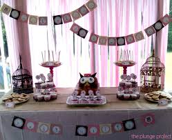 owl themed baby shower decorations pink owl baby shower decorations home party theme ideas