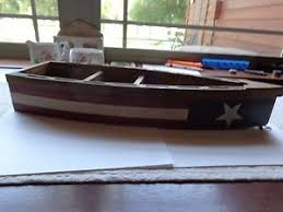 wooden boat wall wooden boat wall white and blue ebay
