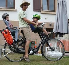 siege pour velo le vélo brouette le combiné sièges enfant avant et arrière