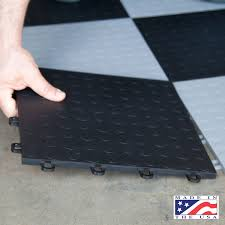 Interlocking Garage Floor Tiles Blocktile Modular Interlocking Garage Floor Tiles 12 Snap Together