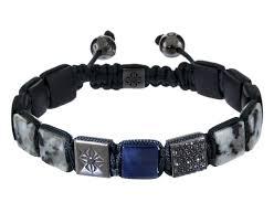 shamballa bead bracelet images Shamballa jewels white granite blue sapphire onyx black diamond jpg