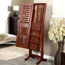 cheval jewelry armoire cheval mirror jewelry armoire white mirror jewelry at big lots one