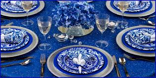cookie party supplies royal blue ornamental scroll party supplies for cookie