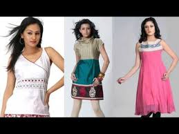 kurta design pictures of latest casual cotton kurtis designer