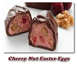 fruit and nut easter eggs chocolate cherry nut easter eggs