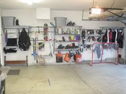 Ikea Garage Shelving by Backyards Overhead Garage Shelving