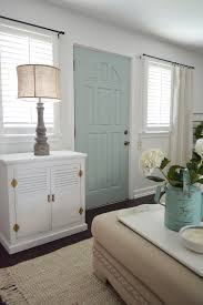 Cottage Home Decorating My New Improved Aqua Door