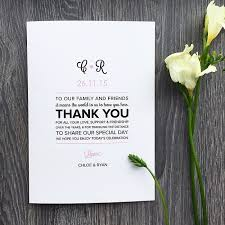 for wedding wedding program messages of thanks everafterguide