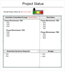 monthly report template ppt project status report template 14 free documents in