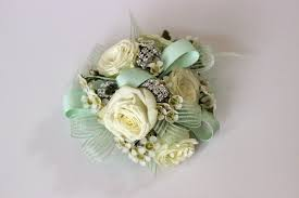 mint green corsage celebration flair march 2015
