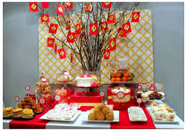 cny home decoration chinese new year party ideas adults not all the sweets but