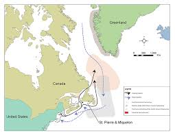 map of atlantic canada and usa international research working across the atlantic to