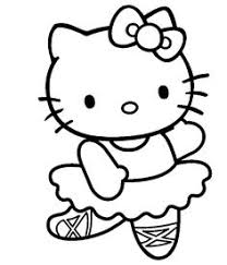 dessins à imprimer coloriage de hello kitty sur play the net