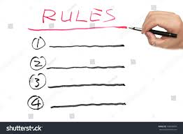 writing white paper rules list written on white paper stock photo 136609859 shutterstock rules list written on white paper