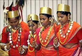 what types of ornaments are worn by the tribal of chhattisgarh