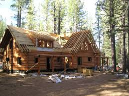 Log Home Plans Building A Log Home From Start To Finish With Our System Built Log