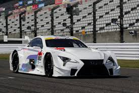 lexus japan the lexus lc 500 will go super gt racing in japan next year