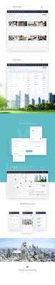 beste website design 17 beste ideeën real estate website design op