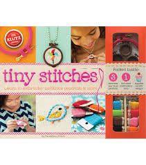 klutz tiny stitches kids activity kit joann
