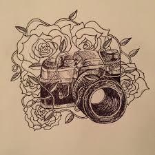camera tattoo sketch by laurenchunn on deviantart tattoos