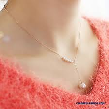 cheap new fashion jewelry clavicle hanging