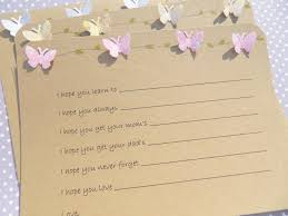wishes for baby cards baby wish cards baby shower cards butterfly cards baby