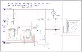 wiring diagram 6 wire stepper motor driver ic oxxww wiring