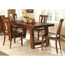 liberty furniture 555 t4090 tahoe trestle dining table the mine
