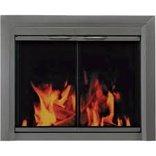 fireplace doors for prefabricated fireplace home decorating