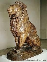 barye lion sculpture antoine louis barye tigre qui marche et lion qui marche w