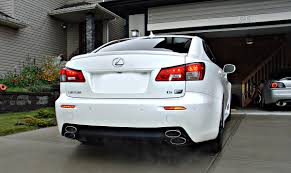 lexus isf white is f finned diffuser a few pictuers to share page 2 lexus is