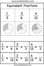 awesome collection of teaching equivalent fractions worksheets in