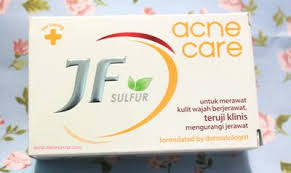Sabun Belerang Di Apotik basmi jerawat dengan sabun jf sulfur acne care skincare