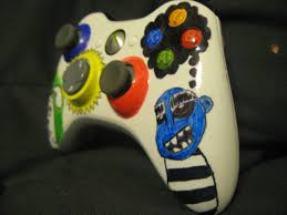 How To Spray Paint Designs Color Up Your Xbox 360 Controller