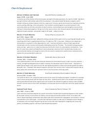 enjoyable inspiration ideas pastoral resume 16 examples pastor
