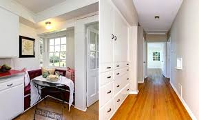 built in hallway cabinets vintage americana traditional home in glendale soulful abode