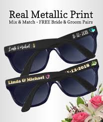custom hand fans no minimum custom sunglasses no minimum real metallic printed wedding sunglasses