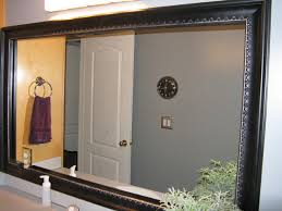 Framing Existing Bathroom Mirrors by Reflected Design Bathroom Mirror Frame Mirror Frame Kit