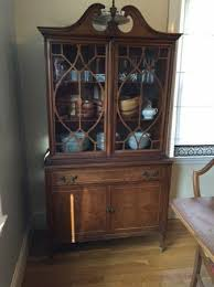 Vintage China Cabinets Vintage China Cabinet Makeover Guest Post Country Chic Paint